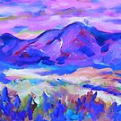 Blue Mountain Memory by artqueene