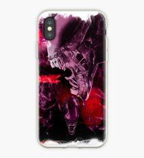 """Xenomorph """"Xenomorphobia"""" Alien  iPhone Case"""