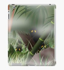 Creapy Creatures in Woods iPad Case/Skin