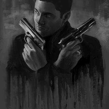 Dean Winchester by jujuubee
