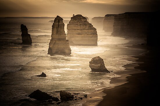 Australia - Great Ocean Road - I by lesslinear
