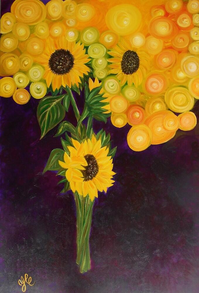 Sunflower's Dream by Yesi Casanova