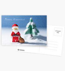 Christmas Greeting Card Postcards