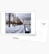 The Clocktower, Montreal Postcards