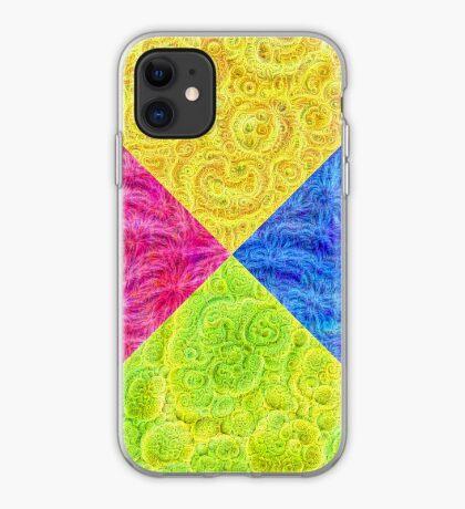 #DeepDream Color Circle Visual Areas 6x6K v1448932478 iPhone Case