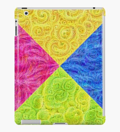 #DeepDream Color Circle Visual Areas 6x6K v1448932478 iPad Case/Skin