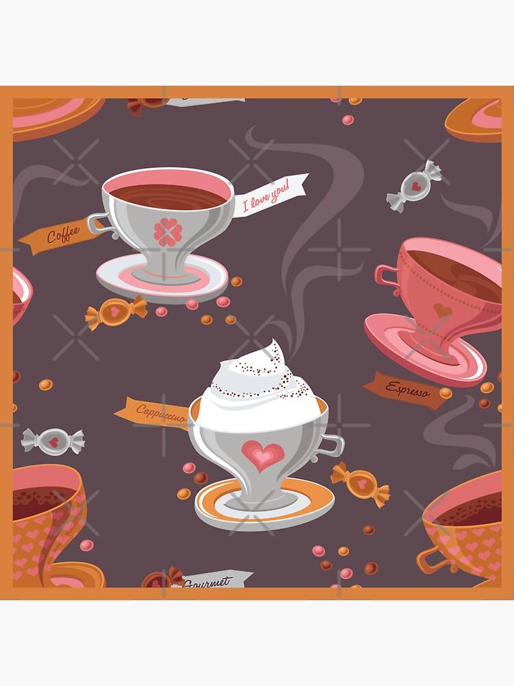 Coffee Pattern by rusanovska