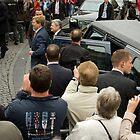 President of Germany Joachim Gauck in Breda for May 5 speech by steppeland