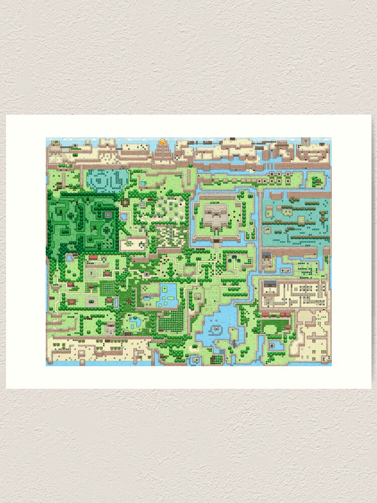 The Map Of All Adventures Art Print