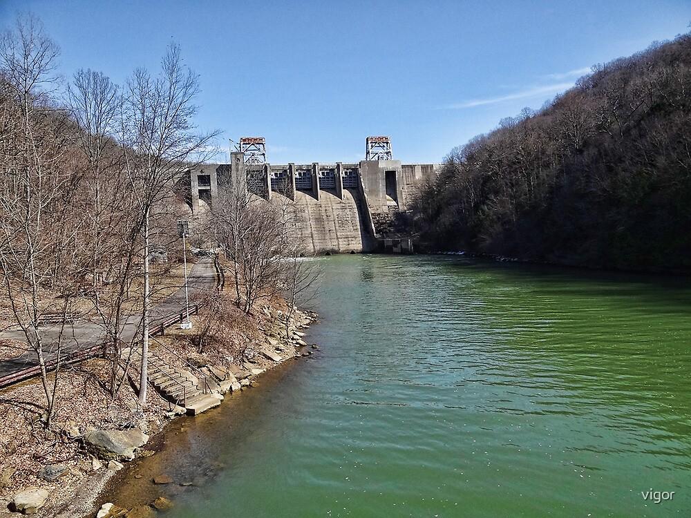 Mahoning Dam by vigor