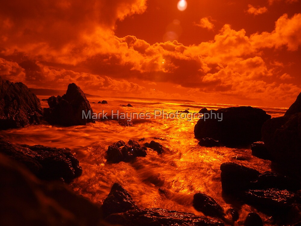 Infra Red Rock 2 by Mark Haynes Photography