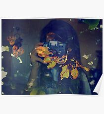 Autumn photographer. Poster