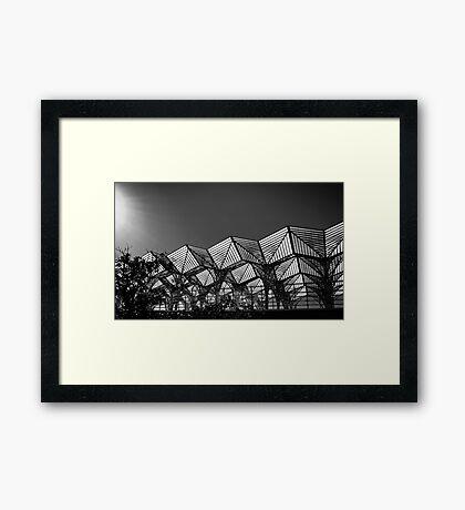 Lisbon Train Station Framed Print