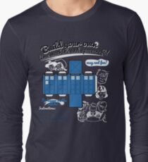 Build your own time machine and spacecraft! Long Sleeve T-Shirt