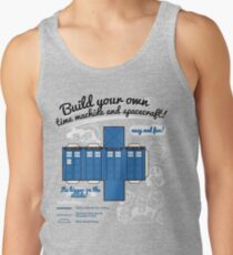 Build your own time machine and spacecraft! Tank Top