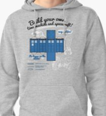 Build your own time machine and spacecraft! Pullover Hoodie