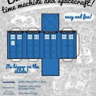 Build your own time machine and spacecraft! by Azafran