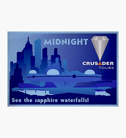 Visit Beautiful Midnight! Photographic Print