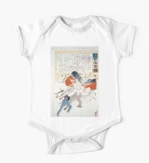 The Japanese torpedo boat delivers a knock out blow to Russian man of war 001 One Piece - Short Sleeve