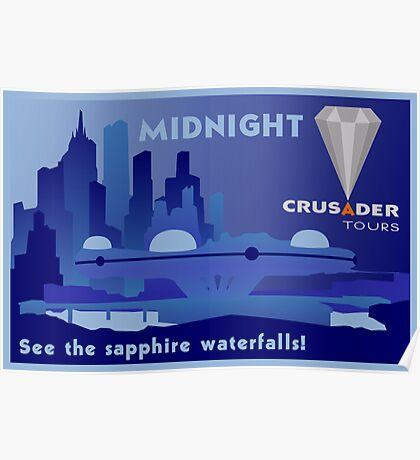 Visit Beautiful Midnight! Poster