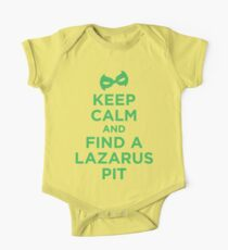 Keep Calm and Find a Lazarus Pit (GL) One Piece - Short Sleeve
