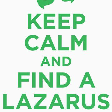 Keep Calm and Find a Lazarus Pit (GL) by Megatrip