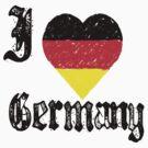 I Love Germany by HolidayT-Shirts