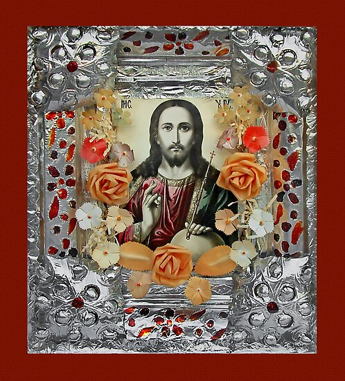 jesus christ icon by snotbubble