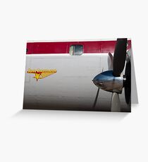 Connie Lockheed L-1049 Super Constellation Greeting Card