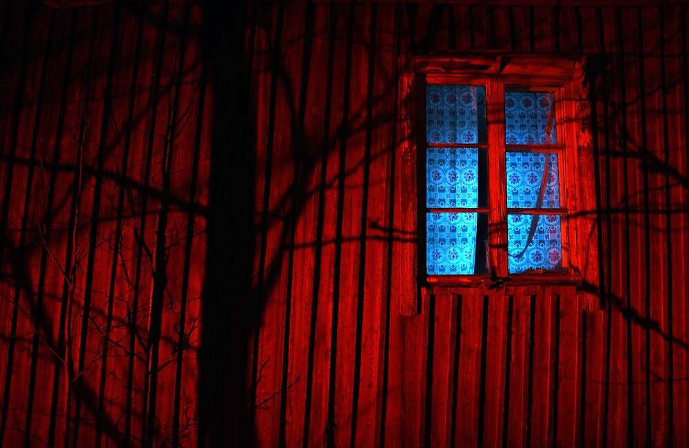 15.3.2013: Shadows and Abandoned Farm House by Petri Volanen