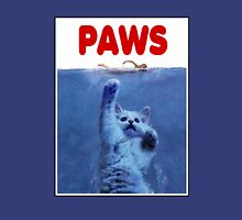 PAWS! JAWS Parody When Cats Attack Unisex T-Shirt