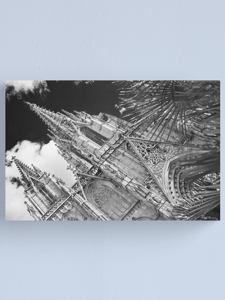 Alternate view of Barcelona Cathedral Canvas Print