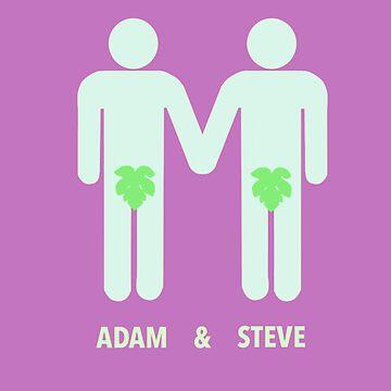 Adam And Steve by DeadBird