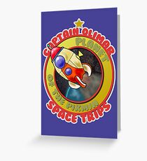 Pikmin Space Trips Greeting Card