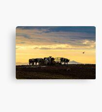 West Coast Sunset - Cumbria Canvas Print