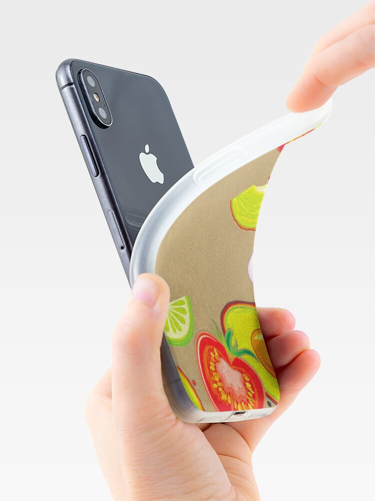 Alternate view of Taste of Mexico iPhone Case & Cover