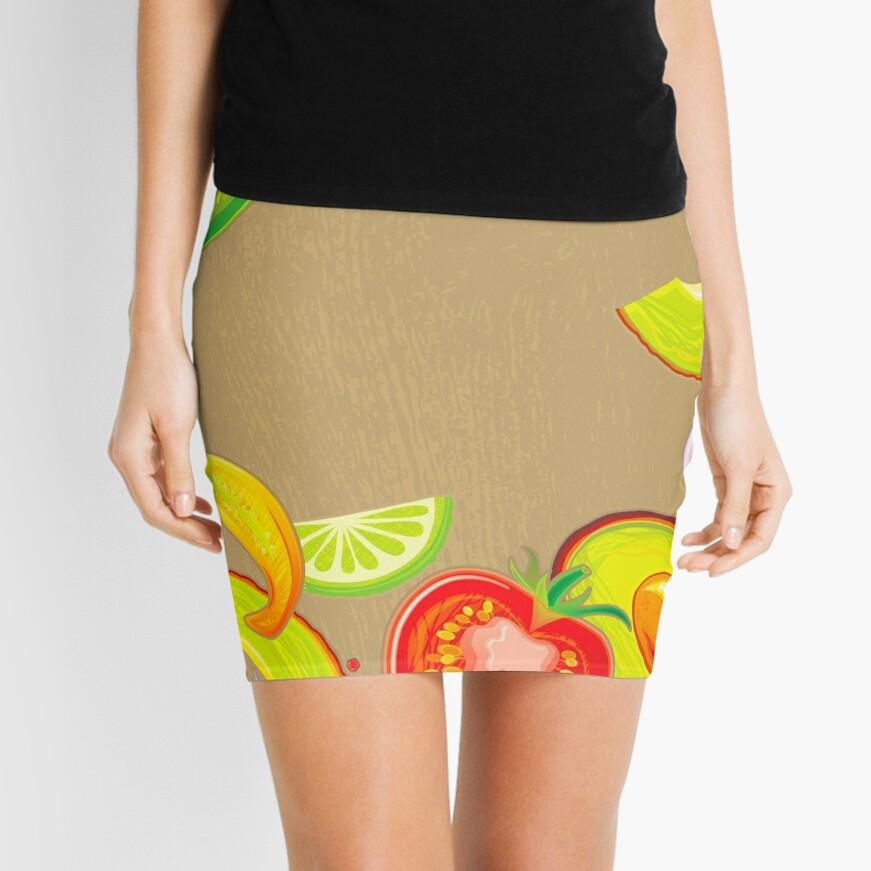 Taste of Mexico Mini Skirt
