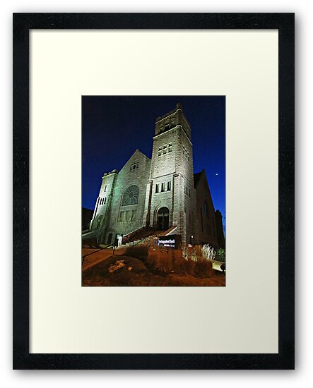 First Congregational Church by Greg Belfrage