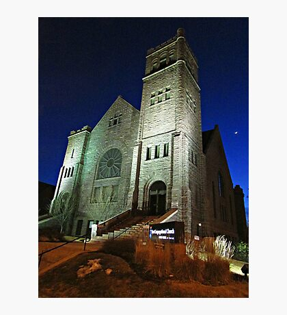 First Congregational Church Photographic Print