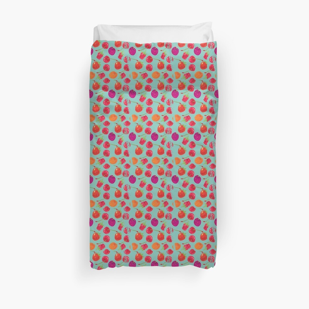 Sweet Berries Duvet Cover
