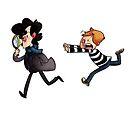 Sherlock and John by TandCdesigns