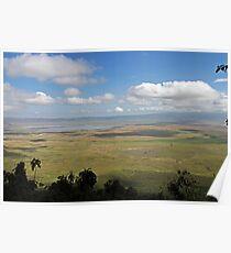 Lake Manyara National Park Poster