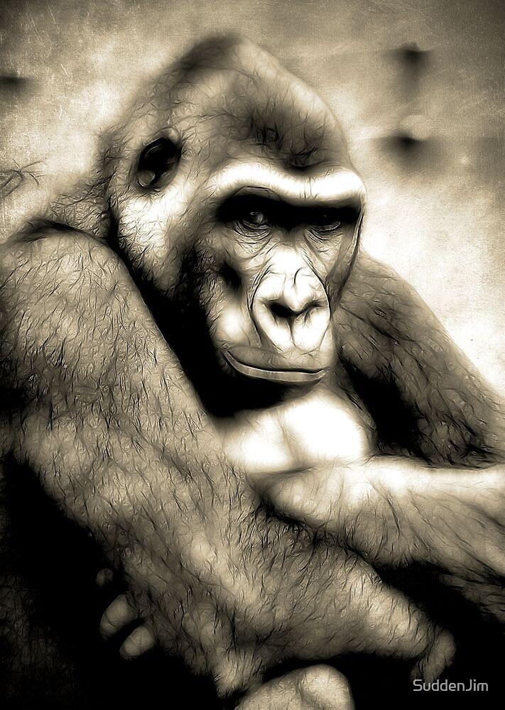 Electric Gorilla by SuddenJim