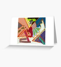 Faces,Places,Personalities,Feelings Greeting Card