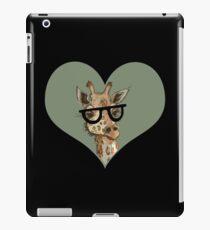 Ironic Lovely Lashes Giraffe iPad Case/Skin