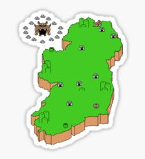 Mario's Emerald Isle Sticker