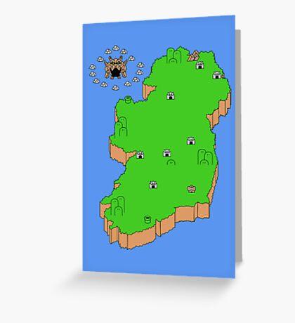 Mario's Emerald Isle Greeting Card