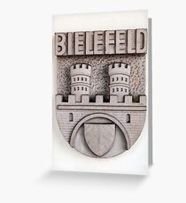 Coat of arms. Greeting Card