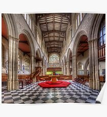 St Mary The Virgin Church - Nave Poster