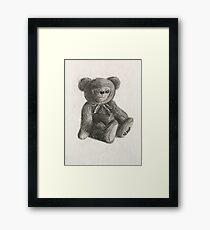 Teddy Bear Toy Framed Print